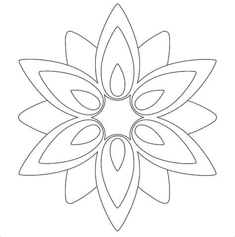 free paper flower templates 14 paper flower templates pdf doc psd vector eps free premium templates