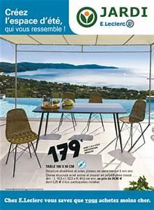 Salon De Jardin Leclerc Catalogue : salon jardin leclerc promo ~ Dailycaller-alerts.com Idées de Décoration