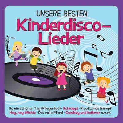 Cd Unsere Besten Kinderdiscolieder, Universal Mytoys