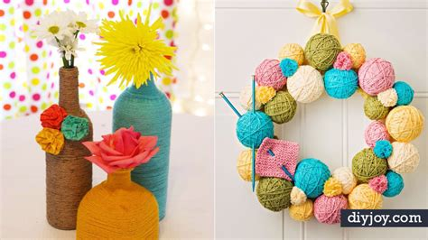 creative diy ideas   yarn