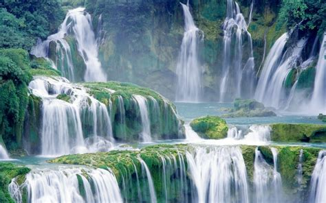 nature landscape photography waterfall wallpapers hd