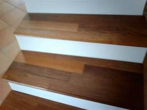Habillage Escalier Bois : habillage de marche d 39 escalier en bois merbau chaque ~ Dode.kayakingforconservation.com Idées de Décoration