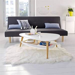 Table Basse Vintage : table basse vintage avec 2 plateaux ~ Teatrodelosmanantiales.com Idées de Décoration