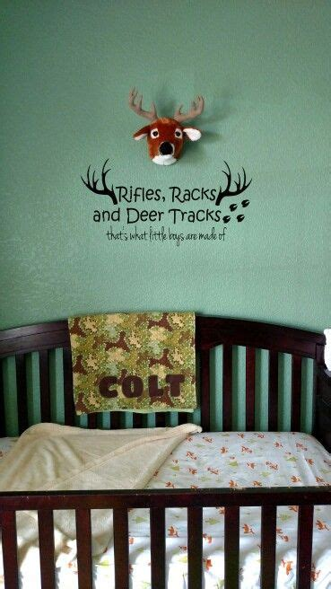 hunting theme nursery ideas  pinterest