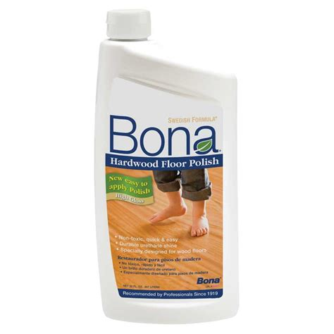 Bona Hardwood Floor by Bona Hardwood Floor High Gloss 32 Oz 8
