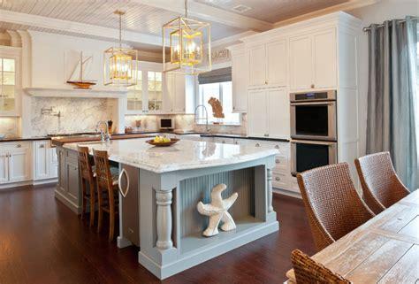 kitchen island decor ideas coastal chic homes brewster home