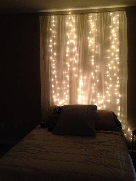 diy bedroom christmas lights   year living space