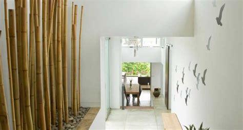 Gestaltung Wohnzimmer Wand by Stilvolle Wand Dekoration Mit Bambus Nettetipps De