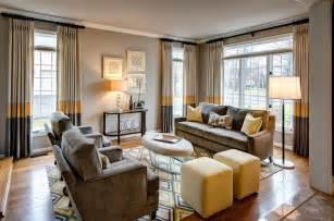 Curtain Valances Living Room Photo