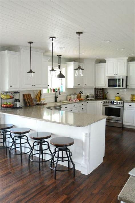 modern kitchen islands 30 awesome kitchen lighting ideas 2017