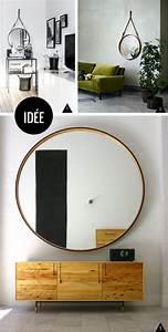 Ikea Miroir Rond : inspiration et diy miroirs ronds et cercl s ~ Teatrodelosmanantiales.com Idées de Décoration