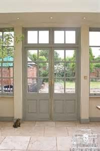 Double French Doors Exterior