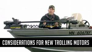 Considerations Before Installing New Trolling Motors On