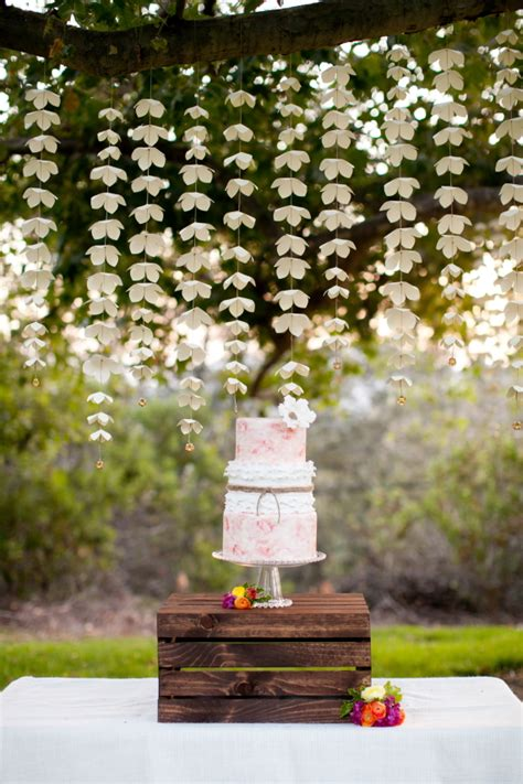 Summer garden bridal shower ideas Bachelorette + Shower