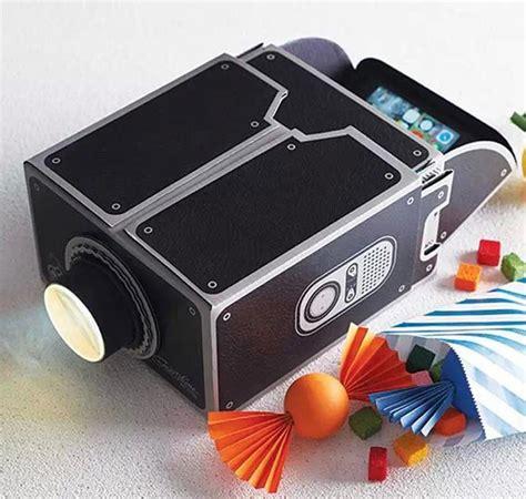 diy cardboard smartphone projector  iphone android