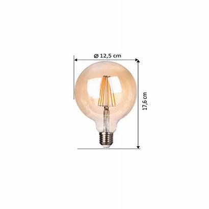 Bulb Filament Round Led E27 8w Kosilight