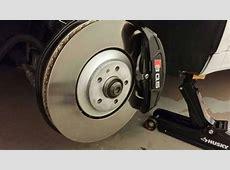 SQ5 Front Brakes and rotors