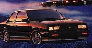 1986 Chevrolet Cavalier Z24