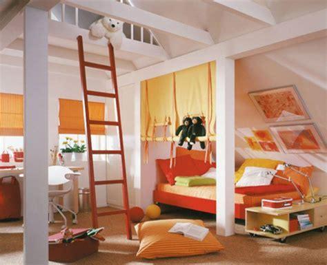 Pretty Attic Bedroom Designs For Your Kids-pretty Designs