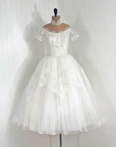 Robe Retro Année 50 : robe de mari e vintage ann e 50 ~ Nature-et-papiers.com Idées de Décoration