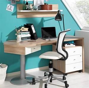 Jugendbett Mit Schreibtisch : jugendzimmer mit schreibtisch ~ Frokenaadalensverden.com Haus und Dekorationen