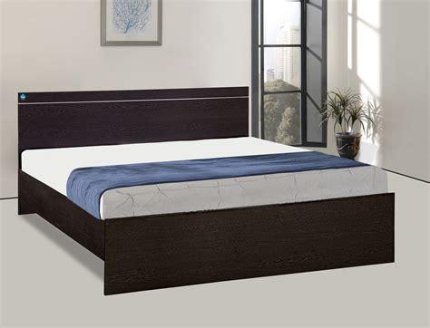 delite kom jazz queen bed engineered wood queen double bed