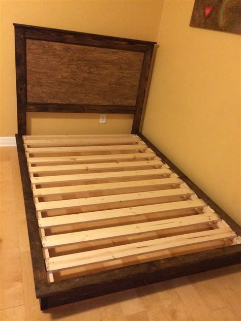 ana white fillman platform bed full size diy projects