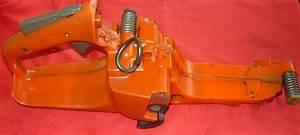 Husqvarna 357xp  359 Chainsaw Fuel Tank Rear Trigger