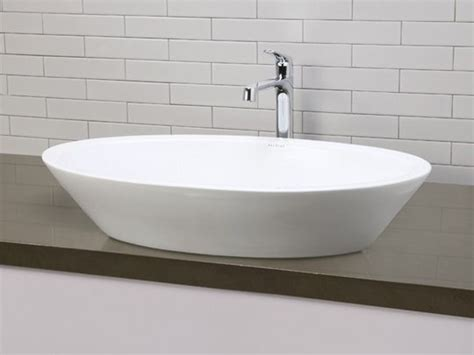 vessel sink with overflow ceramic bathroom vessel sinks white large deep oval