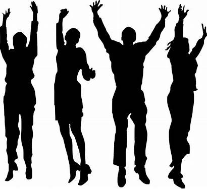 Youth Silhouette Worship Praise God Dance Ministry