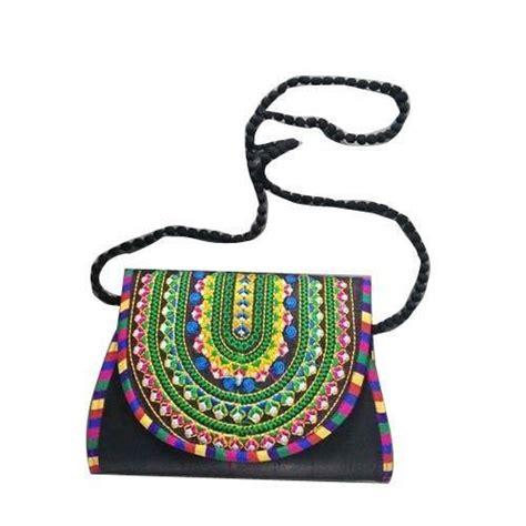 embroidered sling bag at rs 200 rakhial