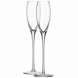 Flute A Champagne : buy lsa international wine champagne flutes set of 4 amara ~ Teatrodelosmanantiales.com Idées de Décoration