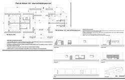 hd wallpapers plan maison contemporaine gratuit plain pied - Plan Maison Contemporaine Gratuit