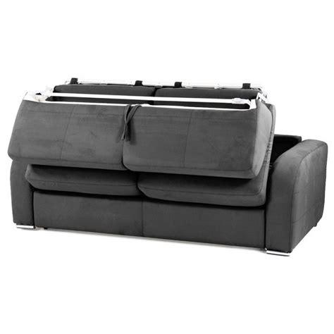 Canapé Convertible Rapido Couchage 3 Tailles Tissu Tramé Convertible Rapido Microfibre Couchage Quotidien