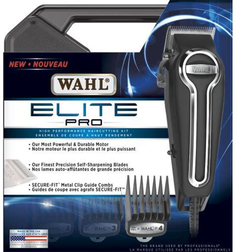 wahl canada grooming styling clippers elite pro