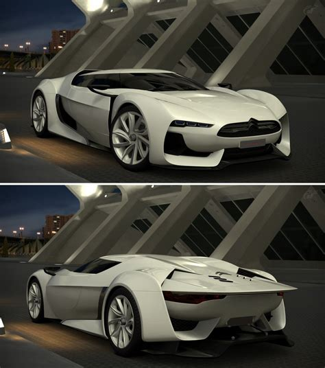 Citroen Gt By Citroen Concept 08 By Gt6 Garage On Deviantart