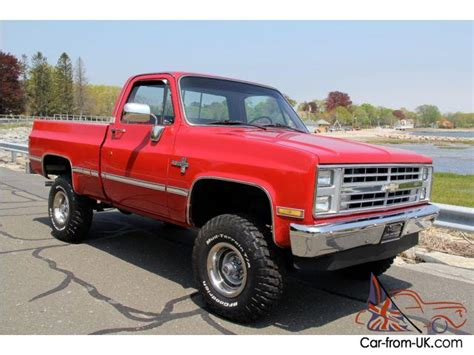 Chevy K20 Wallpaper by 1986 Chevrolet K10 Quot Restored All Wheel Drive