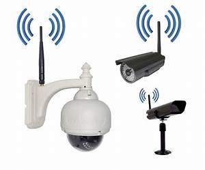 Video Surveillance Sans Fil : camera video surveillance sans fil exterieur wasuk ~ Dailycaller-alerts.com Idées de Décoration