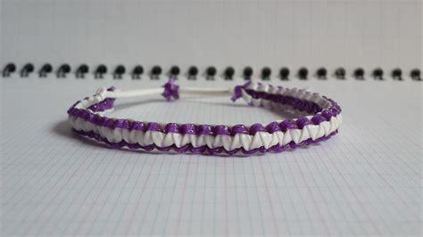bracelet macram 233 en scoubidous