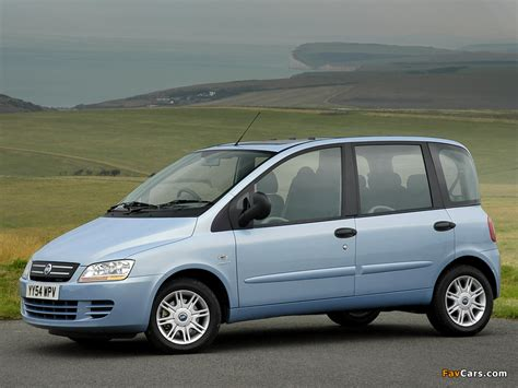 fiat multipla 600 fiat multipla uk spec 2004 10 wallpapers 800x600