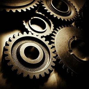 Cogs Photograph by Les Cunliffe