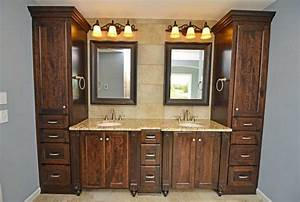 Custom bathroom cabinets design ideas to remodeling or for Design bathroom cabinets online
