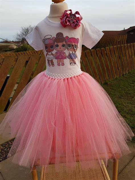 lol doll handmade tutu dress set ebay
