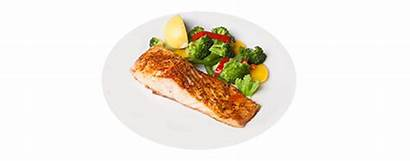 Salmon Menu Dinner Steak Banquet Tilapia Broiled