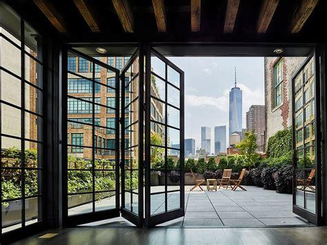 modern industrial   york apartment turned