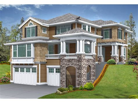 Lake House Plans Sloping Lots Latest Home House Plans