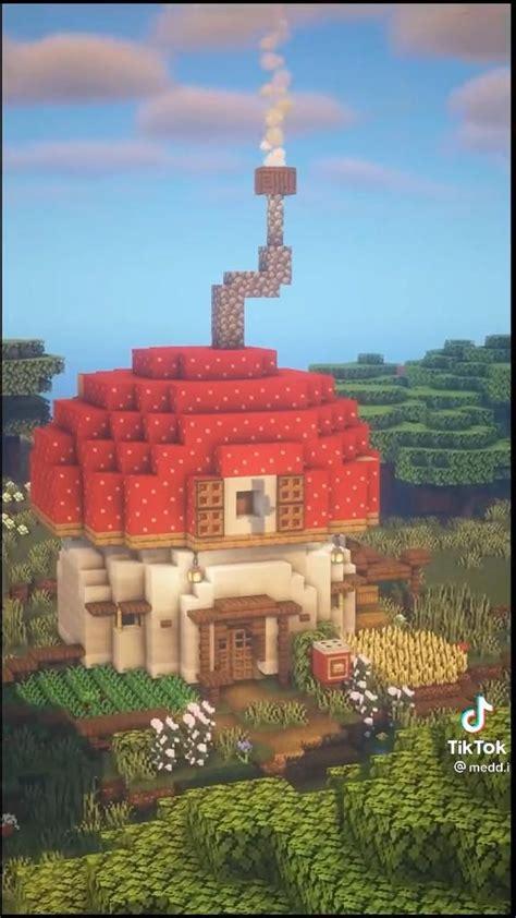mushroom house video   cute minecraft houses minecraft building minecraft houses