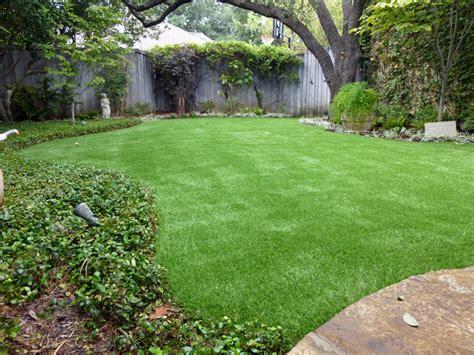 Backyard Grass by Lawn Rolling Estates California Backyard Deck