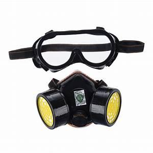 Masque à Poussière : anti poussiere masque gaz masque lunette protec peinture ~ Edinachiropracticcenter.com Idées de Décoration