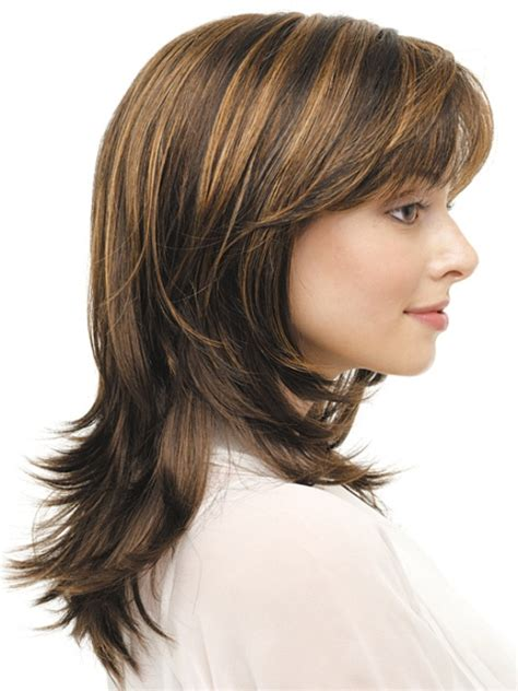 16 striking layered hairstyles for medium length hair